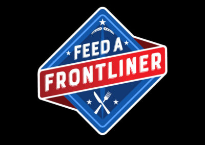 Feed a Frontliner logo