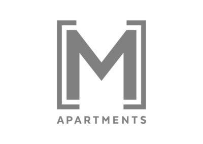 M Apartments logo