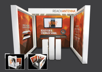 ReachAntenna display