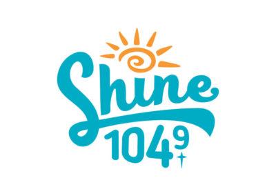 Shine 104.9 logo
