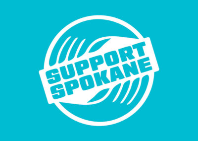 Support Spokane logo