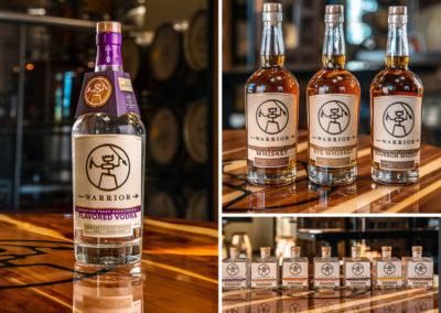Warrior Liquor labels