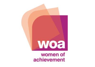 Women of Achievement logo