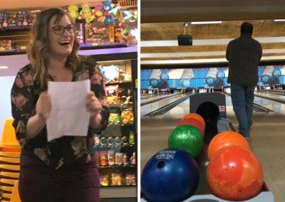 AmpliFi bowling sneak off