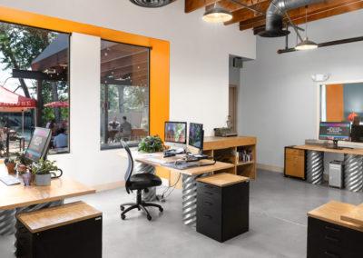 AmpliFi creative team's workspace