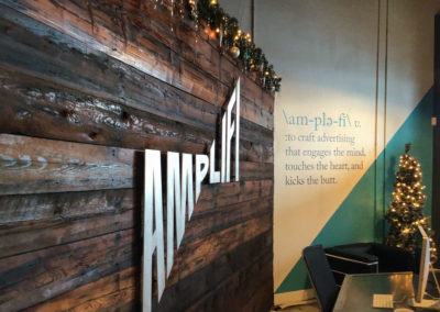 AmpliFi HQ Christmas