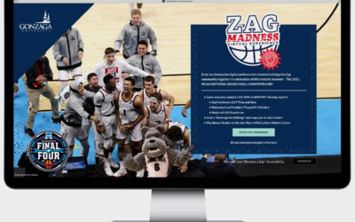 An Epic Celebration of an epic basketball season for gonzaga university: how zag madness came together