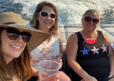 Karen, Amanda and Nancy