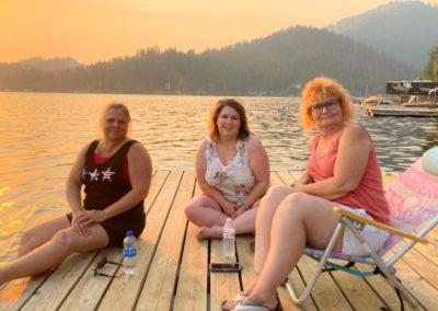 Nancy, Amanda and Denise
