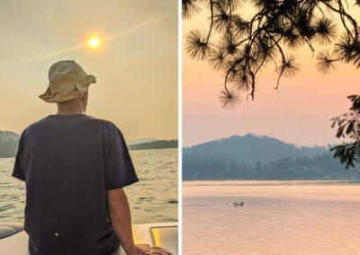 Russ Wheat at Deer Lake
